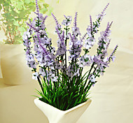 Недорогие -Искусственные Цветы 1 Филиал Современный Светло-голубой Букеты на стол