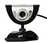 cheap -USB 2.0 16M HD Camera Web Cam with MIC 9 different video effects for Desktop Skype Computer PC Laptop