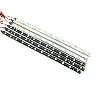 0.3м 12LED белый / красный / синий / желтый гибкие светодиодные полосы света DC12 v