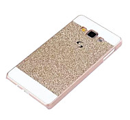 Special Design Metal Plastic Back Cover Diamond Look for Samsung Galaxy A3
