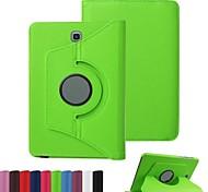 Para Funda Samsung Galaxy con Soporte / Flip Funda Cuerpo Entero Funda Un Color Cuero Sintético SamsungTab S2 9.7 / Tab S2 8.0 / Tab E