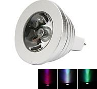 1pc mr16 3w светодиодные фонари для сцены 250lm rgb диммируемые дистанционно управляемые декоративные dc12v