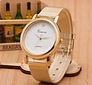 cheap -Men And Weman Alloy Mesh Belt  Wrist Watch Cool Watch Unique Watch