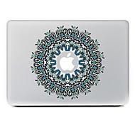 круговой цветок 21 декоративные наклейки кожи для MacBook Air / Pro / Pro с сетчатки дисплей