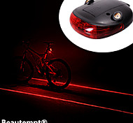 cheap -Bike Lights Rear Bike Light Laser LED Cycling Impact Resistant Waterproof Laser Lithium Battery Lumens Battery Cycling/Bike