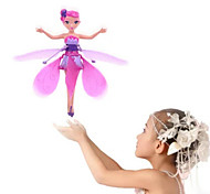 cheap -RC Helicopter Hovering Angel 2ch Hover Remote Control Remote Control / RC Above Your Hand Rainbow light Flying Fairy Princess