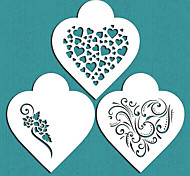 Недорогие -подарок современный сердца печенье трафарет Святого Валентина для украшения торта, Санкт-671