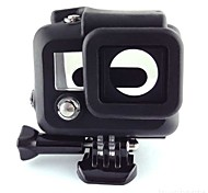 Smooth Frame Protective Case Convenient For Action Camera Gopro 3 Silicone