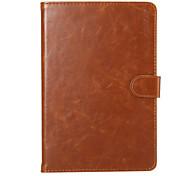 abordables -Enkay de haute qualité cuir PU cas intelligente de protection avec support et cartes fentes pour Mini iPad 4 (couleurs assorties)