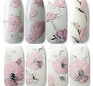 cheap -1 Nail Jewelry 3D Nail Stickers Flower Fashion Lovely Daily High Quality
