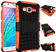 cheap -Case For Samsung Galaxy Samsung Galaxy Case Shockproof with Stand Back Cover Armor PC for J7 J5 J1 E7 E5