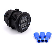 12V-24V Digital Voltmeter Waterproof Marine Boat  Motorcycle Car Voltmeter Current Meter