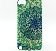 Mandala Painting Pattern TPU Soft Case for iPod Touch 5 iPod Cases/Covers