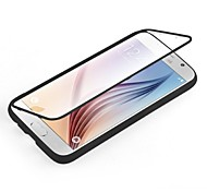 Недорогие -Для Кейс для  Samsung Galaxy Прозрачный Кейс для Чехол Кейс для Один цвет TPU Samsung S6