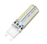 Недорогие -G9 Двухштырьковые LED лампы Утапливаемое крепление 72 светодиоды SMD 3014 Диммируемая Декоративная Тёплый белый Холодный белый 600-700lm