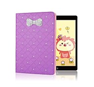 Sparkling Rhinestone Bowknot Flip Skin Shell for iPad 2/3/4 iPad  Cases / Covers