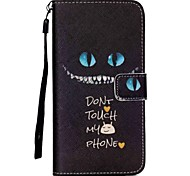 cheap -For Samsung Galaxy Case Wallet / Card Holder / with Stand / Flip Case Full Body Case Cartoon PU Leather SamsungS6 edge plus / S6 edge /