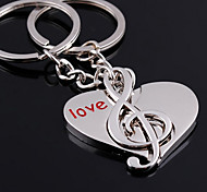 cheap -Keychain Jewelry Silver Alloy Fashion Birthday Gift