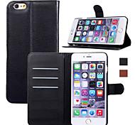 новое покрытие кожаный бумажник телефон стенд Мода роскошный флип для Iphone 6 плюс / 6S плюс (ассорти цветов)