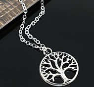 cheap -Women's Fashion Pendant Necklace Chain Necklace Vintage Necklaces Alloy Pendant Necklace Chain Necklace Vintage Necklaces , Party Daily