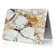 "Case for Macbook Air 11"" Macbook Pro 13""/15"" Marble Plastic Material 3 in 1 Fashion Marble Cover Case + Keyboard Cover + Screen Protector"