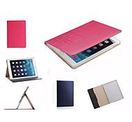 роскошный кожаный чехол сетка карты бумажник стоять умный Защитный книги случаи для IPad мини 4 (ассорти цветов)
