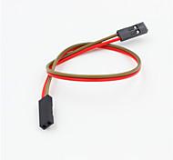 DuPont 2-контактный 2.54мм женщин и женщин расширение проводной кабель для arduino- (20см)