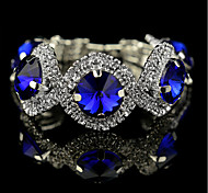 Women's Tennis Bracelet Cubic Zirconia Crystal Classical Feminine Style