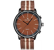 V6® Men's Casual Style Fabric Strap Quartz Watch Cool Watch Unique Watch