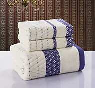 Fresh Style Bath Towel Set,Jacquard Superior Quality 100% Cotton Towel