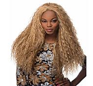 жен. Парики из искусственных волос Длиный Кудрявый Блондинка Парик для Хэллоуина Карнавальный парик Парики к костюмам