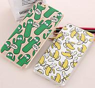Недорогие -попкорн пончик случаи акриловые TPU упаковка для iphone 6с 6 плюс