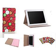 Brand Designer Korea Cute Sunflower Flip Ultra Slim Stand Leather Book Case Smart Cover For  iPad Air