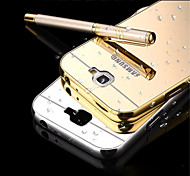 Elegant High Quality Metal Aluminum Case Acrylic Mirror Back Cover Case For Samsung Galaxy Note 2/Note 3/Note 4/ Note 5