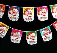 Недорогие -6шт дизайн случайный цвет украшения подарки кольцо тростника колокола висят играть роль ofing елочные украшения Рождественский подарок