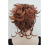 Недорогие -На клипсе Естественные волны Конские хвостики синтетика Волосы Наращивание волос 8 дюйм