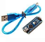 cheap -Nano 3.0 Atmel Atmega328P Mini-USB Board w/ USB Cable for Arduino
