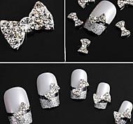 - Finger - Nail Schmuck - Metall - 10pcs Stück - 1 cm
