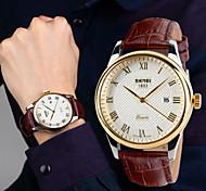 SKMEI® Men's British Style Waterproof Fashion Business Casual Watch Pointer Calendar Wrist Watch Cool Watch Unique Watch