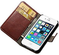 cheap -Case For Apple iPhone 8 iPhone 8 Plus iPhone 5 Case iPhone 6 iPhone 6 Plus iPhone 7 Plus iPhone 7 Card Holder Wallet with Stand Flip Full