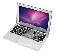"cheap -Ultra Thin Transparent TPU Soft Keyboard Protector Cover + Protective Clear Screen Guard for 11.6""/13.3"" MacBook Air"