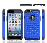 Недорогие -Для Кейс для iPhone 5 Защита от удара Кейс для Задняя крышка Кейс для Один цвет Мягкий Силикон iPhone SE/5s/5