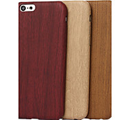 cheap -Case For Apple iPhone X iPhone 8 iPhone 5 Case Pattern Back Cover Wood Grain Soft TPU for iPhone X iPhone 8 Plus iPhone 8 iPhone 7 Plus