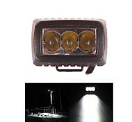 abordables -Coche / Vehículo Militar / Vehículo de Comunicación Bombillas 15W LED de Alto Rendimiento 1500LM 3PCS Luz de Trabajo