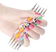 5PCS 2-way Dotting Marbleizing Pen Tool