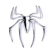 Недорогие -ziqiao стикер автомобиля хром эмблема значок - паук
