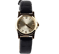 Manufacturers Selling Black Leather Women's Watch Cool Watches Unique Watches