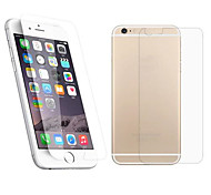 2.5D Front and Back Premium Tempered Glass Screen Protective Film for iPhone 6S/6