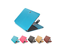 "Case for Macbook Air 11.6"" Macbook Pro 13.3""/15.4"" Business Solid Color PU Leather Material Fashion PU Leather Laptop Case Cover"