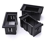 Iztoss 3 Rocker Switches Housing ARB Clip Panel Holder Plastic Carling Type